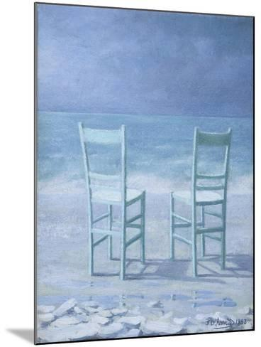 Deux (Two)-Jeremy Annett-Mounted Giclee Print