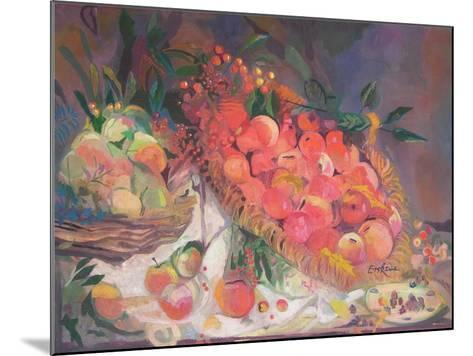 Still Life with Fruit-John Erskine-Mounted Giclee Print