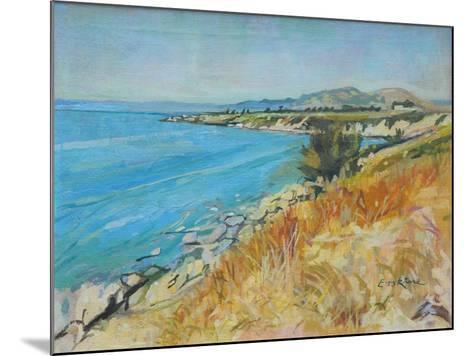 Pefkos Bay, Rhodes-John Erskine-Mounted Giclee Print