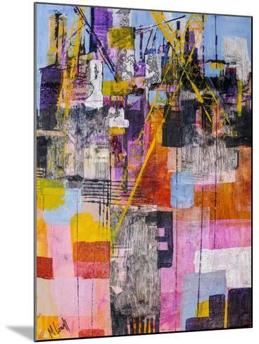 The Shipyard-Margaret Coxall-Mounted Giclee Print