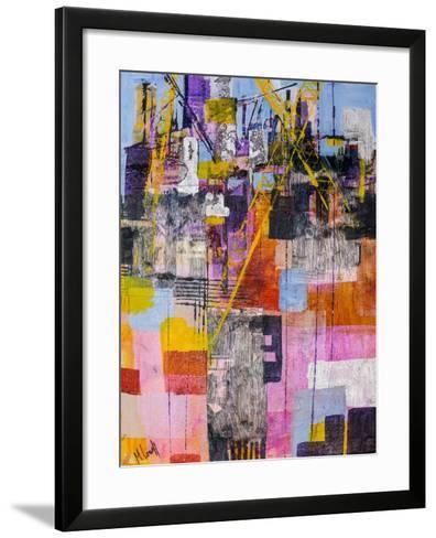 The Shipyard-Margaret Coxall-Framed Art Print