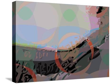 Mona 9-Scott J. Davis-Stretched Canvas Print