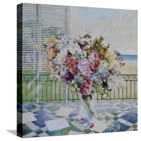 Bouquet-Jeremy Annett-Stretched Canvas Print