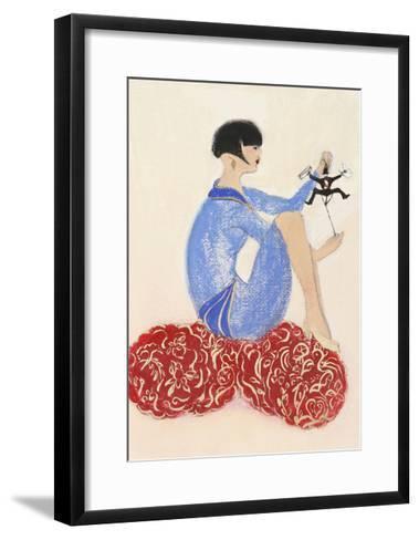 Littleman Series I-Susan Adams-Framed Art Print