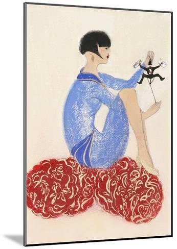 Littleman Series I-Susan Adams-Mounted Giclee Print