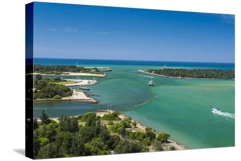 Turquoise Waters at Lakes Entrance, Victoria, Australia, Pacific-Michael Runkel-Stretched Canvas Print