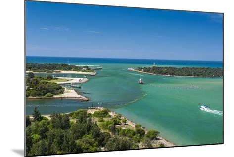 Turquoise Waters at Lakes Entrance, Victoria, Australia, Pacific-Michael Runkel-Mounted Photographic Print