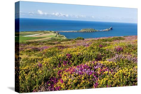 Rhossili Bay, Gower Peninsula, Wales, United Kingdom, Europe-Billy Stock-Stretched Canvas Print