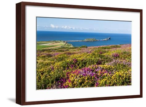 Rhossili Bay, Gower Peninsula, Wales, United Kingdom, Europe-Billy Stock-Framed Art Print