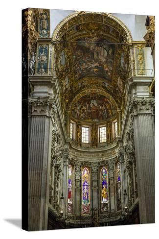 San Lorenzo Cathedral, Genoa, Liguria, Italy, Europe-Yadid Levy-Stretched Canvas Print