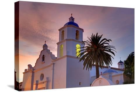 Mission San Luis Rey, Oceanside, California, United States of America, North America-Richard Cummins-Stretched Canvas Print