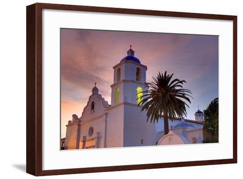 Mission San Luis Rey, Oceanside, California, United States of America, North America-Richard Cummins-Framed Art Print