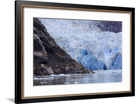 Sawyer Glacier in Tracy Arm Fjord, Alaska, United States of America, North America-Richard Cummins-Framed Art Print