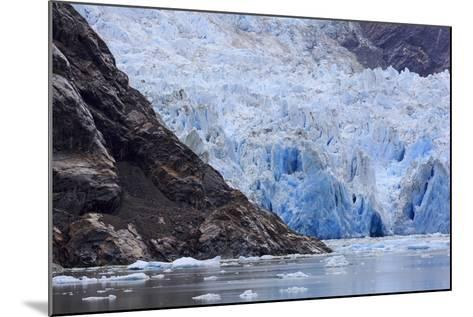 Sawyer Glacier in Tracy Arm Fjord, Alaska, United States of America, North America-Richard Cummins-Mounted Photographic Print