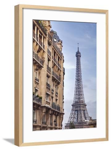 The Eiffel Tower in Paris, France, Europe-Julian Elliott-Framed Art Print