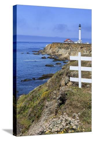 Point Arena Lighthouse, California, United States of America, North America-Richard Cummins-Stretched Canvas Print