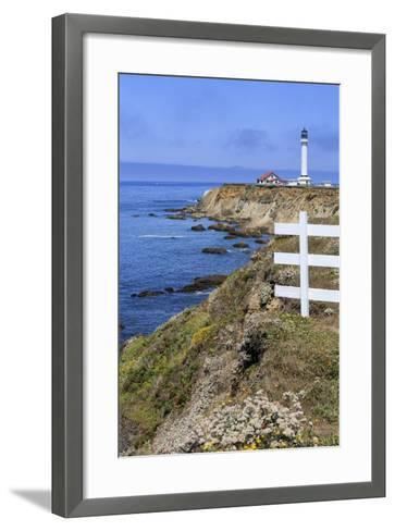 Point Arena Lighthouse, California, United States of America, North America-Richard Cummins-Framed Art Print