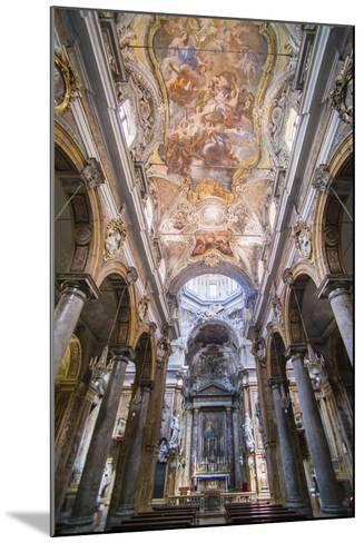 Frescoes on the Ceiling at the Church of San Matteo-Matthew Williams-Ellis-Mounted Photographic Print
