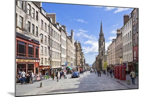 The High Street in Edinburgh Old Town-Neale Clark-Mounted Photographic Print