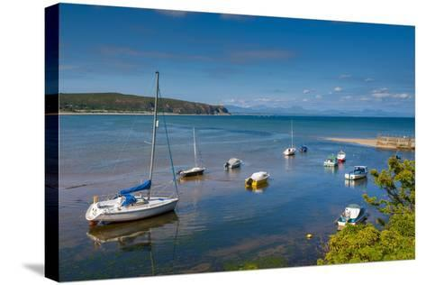 Abersoch, Llyn Peninsula, Gwynedd, Wales, United Kingdom, Europe-Alan Copson-Stretched Canvas Print