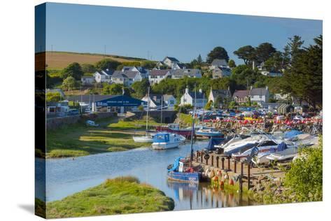 Abersoch, Llyn Peninsula, Gwynedd, Wales, United Kingdom, Europe-Alan Copson-Stretched Canvas Print