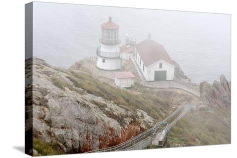 Point Reyes Lighthouse-Richard Cummins-Stretched Canvas Print