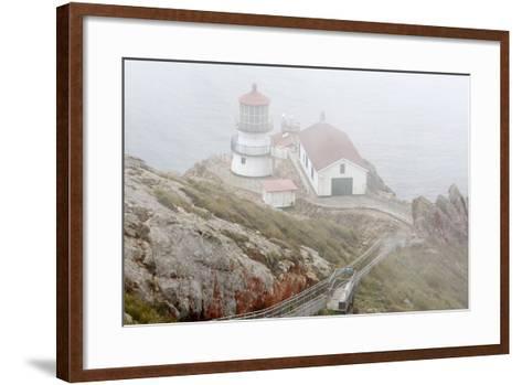 Point Reyes Lighthouse-Richard Cummins-Framed Art Print