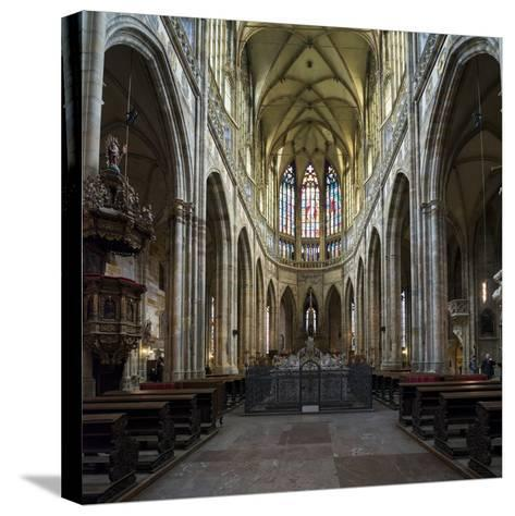 St. Vitus Cathedral, Prague, Czech Republic, Europe-Ben Pipe-Stretched Canvas Print
