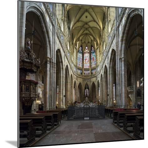 St. Vitus Cathedral, Prague, Czech Republic, Europe-Ben Pipe-Mounted Photographic Print