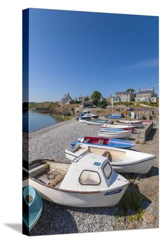 Moelfre, Anglesey, Gwynedd, Wales, United Kingdom, Europe-Alan Copson-Stretched Canvas Print