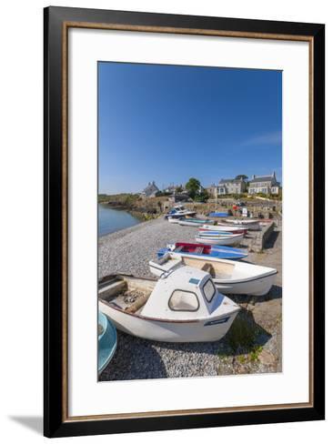 Moelfre, Anglesey, Gwynedd, Wales, United Kingdom, Europe-Alan Copson-Framed Art Print