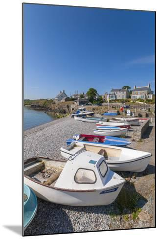 Moelfre, Anglesey, Gwynedd, Wales, United Kingdom, Europe-Alan Copson-Mounted Photographic Print