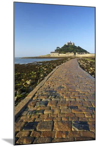Causeway to St. Michaels Mount, Penzance, Cornwall, England, United Kingdom, Europe-Peter Barritt-Mounted Photographic Print