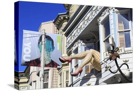 Store in Haight-Ashbury District-Richard Cummins-Stretched Canvas Print