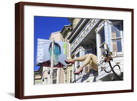 Store in Haight-Ashbury District-Richard Cummins-Framed Art Print