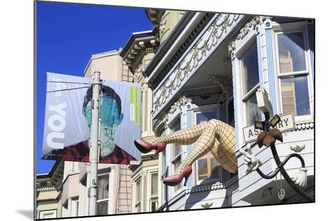 Store in Haight-Ashbury District-Richard Cummins-Mounted Photographic Print