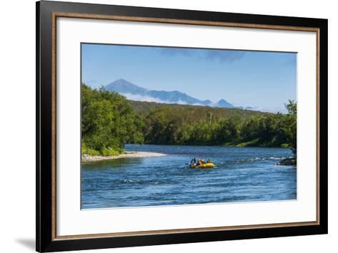 River Rafting on the Bystraya River, Kamchatka, Russia, Eurasia-Michael Runkel-Framed Art Print