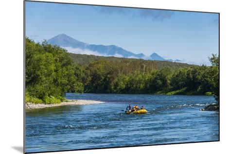 River Rafting on the Bystraya River, Kamchatka, Russia, Eurasia-Michael Runkel-Mounted Photographic Print