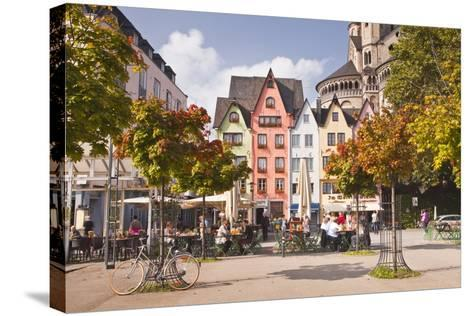 Fischmarkt in the Old Part of Cologne, North Rhine-Westphalia, Germany, Europe-Julian Elliott-Stretched Canvas Print