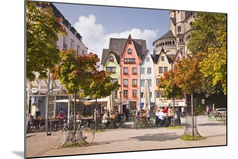 Fischmarkt in the Old Part of Cologne, North Rhine-Westphalia, Germany, Europe-Julian Elliott-Mounted Photographic Print
