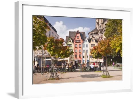 Fischmarkt in the Old Part of Cologne, North Rhine-Westphalia, Germany, Europe-Julian Elliott-Framed Art Print