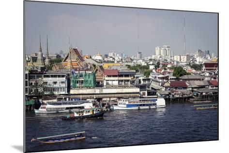 Chao Phraya River, Bangkok, Thailand, Southeast Asia, Asia-Andrew Taylor-Mounted Photographic Print
