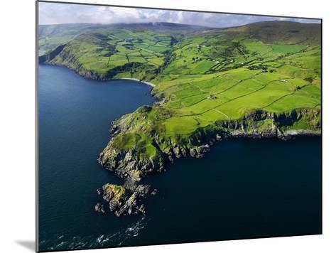Aerial View of Torr Head on the North Antrim Coast-Chris Hill-Mounted Photographic Print