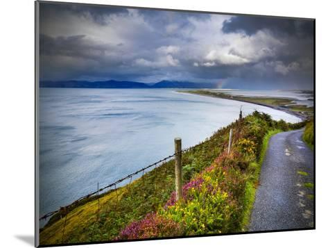 A Country Road Down to Rossbeigh in County Kerry-Chris Hill-Mounted Photographic Print