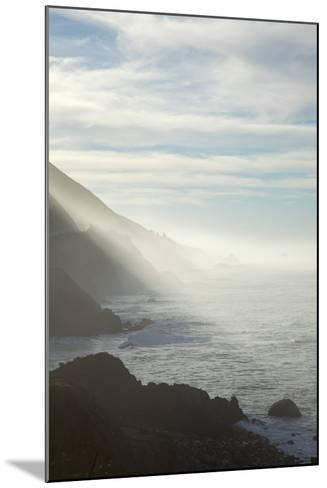 Early Morning Fog Lifts Off the Pacific Ocean Along the Big Sur Coastline-Macduff Everton-Mounted Photographic Print