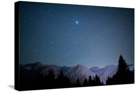 A Star-Studded Sky-Alessandro Della Bella-Stretched Canvas Print