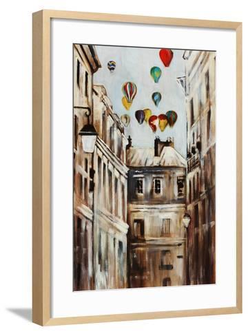 Street Affair-Sydney Edmunds-Framed Art Print