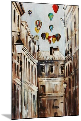 Street Affair-Sydney Edmunds-Mounted Giclee Print