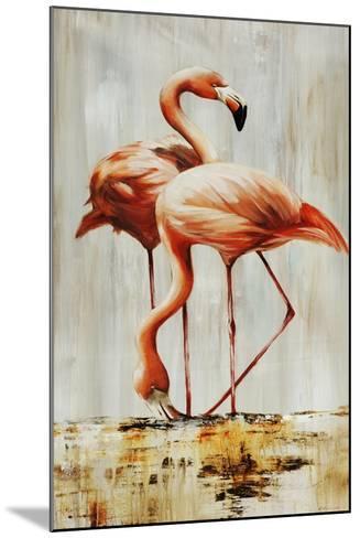Flamingo V-Sydney Edmunds-Mounted Giclee Print