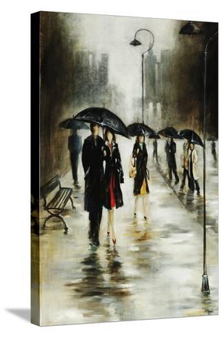 Brisk Evening Walk-Rikki Drotar-Stretched Canvas Print